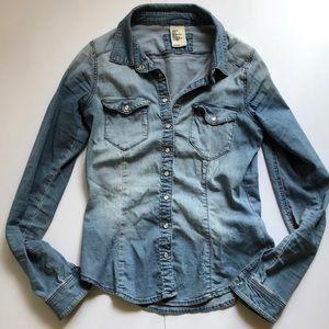 H&M Denim Shirt 🌺